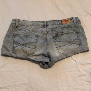 Bethany Mota Shorts - Bethany Mota ripped jean shorts